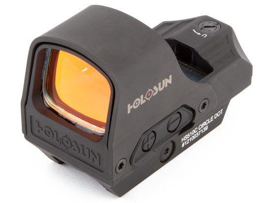 Holosun HS510C Solar Red Dot Sight   Army Shop Steinadler