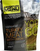 Adventure Menu 100% Turkey meat with onion