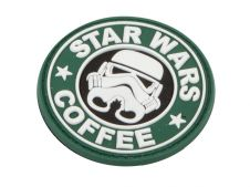 Deploy PVC Patch Star Wars Coffee