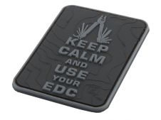 JTG PVC Patch Keep Calm EDC